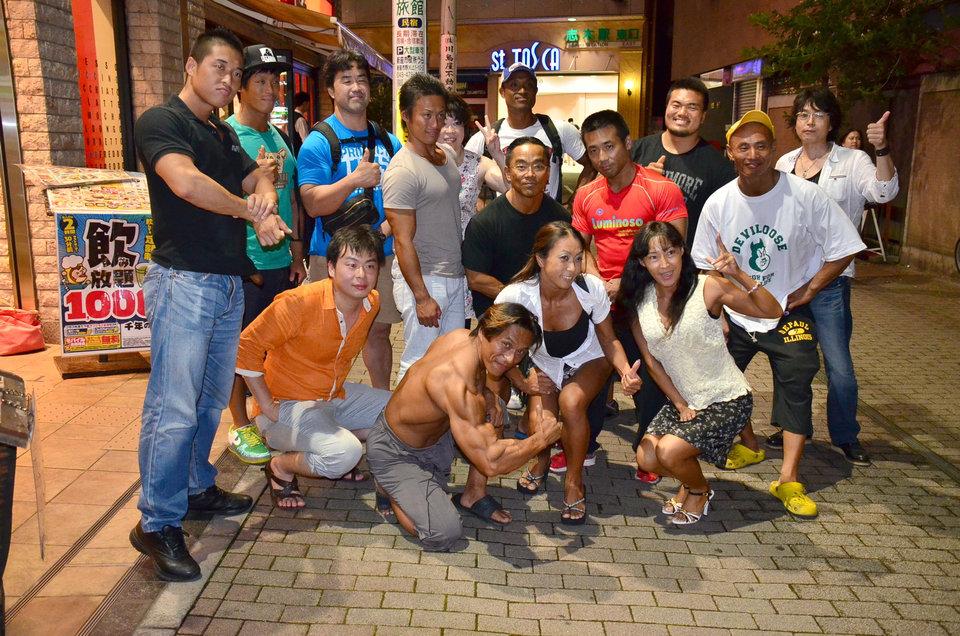 ジャパンオープンボディビル選手権終わりました   吉田のブログ